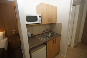 Queen Balcony Kitchenette